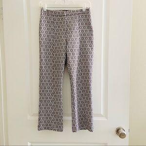 Topshop Retro flare Printed pants Women's 4